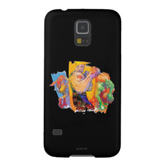 Guile, Blanka & Dhalsim Galaxy S5 Cases