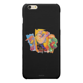 Guile, Blanka & Dhalsim Glossy iPhone 6 Plus Case