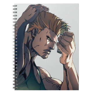 Guile Combing Hair Notebook