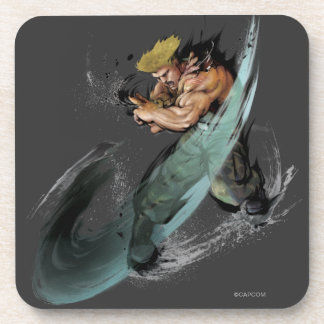 Guile Sonic Boom Drink Coaster