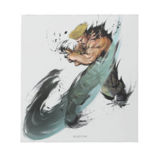 Guile Sonic Boom Notepad