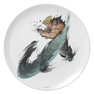 Guile Sonic Boom Party Plate