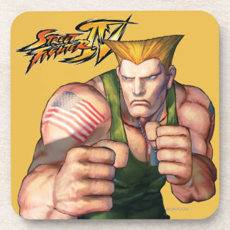Guile With Fists Beverage Coaster