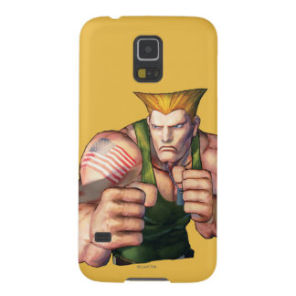 Guile With Fists Galaxy S5 Cases