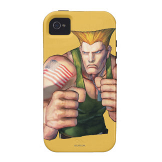 Guile With Fists iPhone 4 Covers