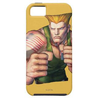 Guile With Fists iPhone 5 Covers