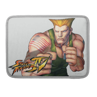 Guile With Fists MacBook Pro Sleeve
