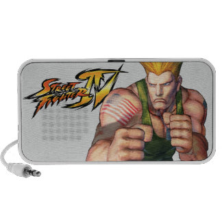 Guile With Fists Mini Speakers