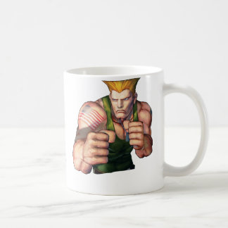 Guile With Fists Classic White Coffee Mug