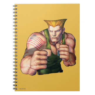 Guile With Fists Notebook