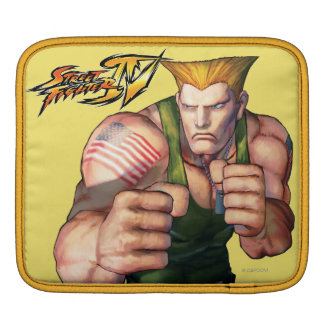 Guile With Fists Sleeve For iPads