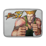 Guile With Fists Sleeve For MacBook Air