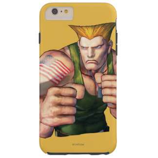 Guile With Fists Tough iPhone 6 Plus Case