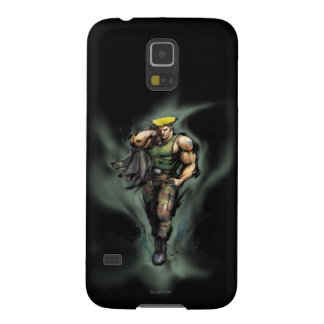 Guile With Jacket Galaxy S5 Covers