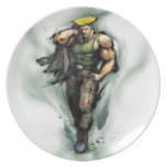 Guile With Jacket Dinner Plate