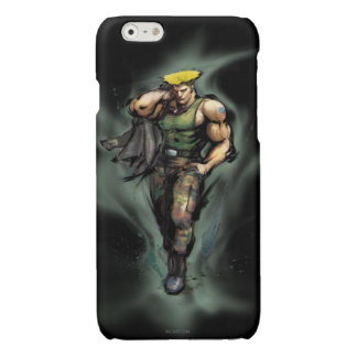 Guile With Jacket Glossy iPhone 6 Case
