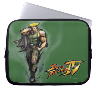 Guile With Jacket Laptop Sleeve