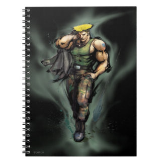 Guile With Jacket Notebook