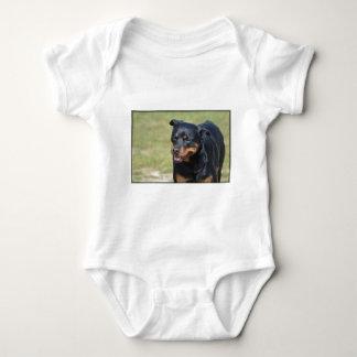 Guileless Rottweiler Baby Bodysuit