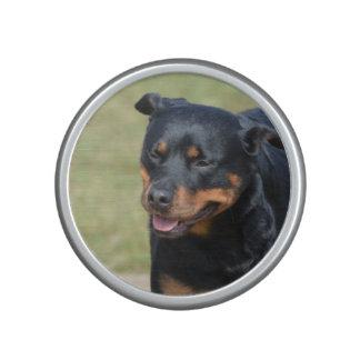 Guileless Rottweiler Bluetooth Speaker