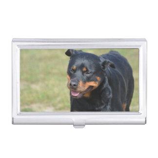 Guileless Rottweiler Business Card Case