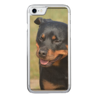 Guileless Rottweiler Carved iPhone 8/7 Case