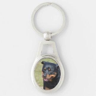 Guileless Rottweiler Keychain