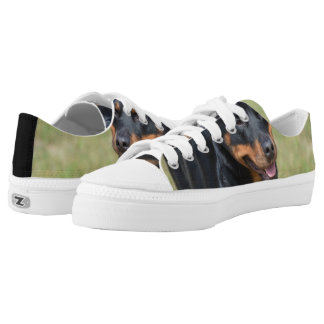 Guileless Rottweiler Low-Top Sneakers