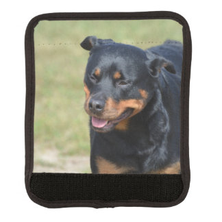 Guileless Rottweiler Luggage Handle Wrap