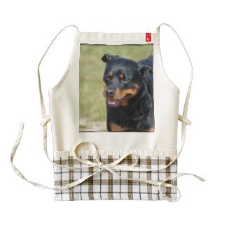 Guileless Rottweiler Zazzle HEART Apron