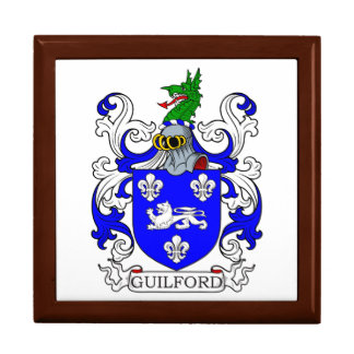 Guilford Coat of Arms I Trinket Box