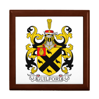 Guilford Coat of Arms III Jewelry Box