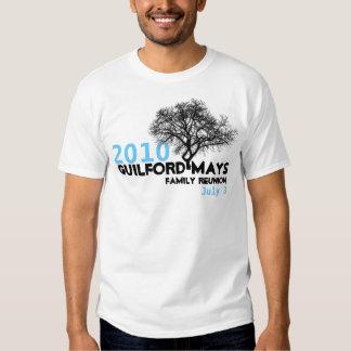 Guilford-Mays Family Reunion T-Shirt