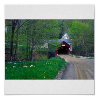 Guilford Vermont Covered Bridge Posters