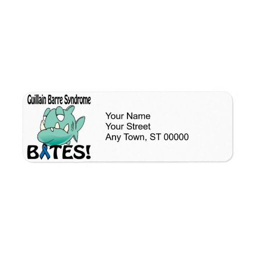 Guillain Barre Syndrome BITES Return Address Label