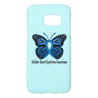 Guillain-Barre Syndrome Butterfly Awareness Ribbon Samsung Galaxy S7 Case