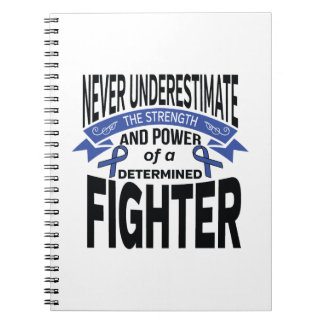 Guillain Barre Syndrome Determined Fighter Spiral Notebooks