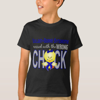 Guillain Barre Syndrome Messed With Wrong Chick T-Shirt