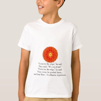 Guillaume Appolinaire inspirational quotation T-Shirt