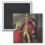 Guillaume Brune  after a painting Fridge Magnet