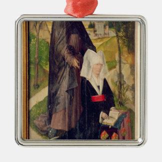 Guillemette de Montagu with Saint Guillaume Ornament