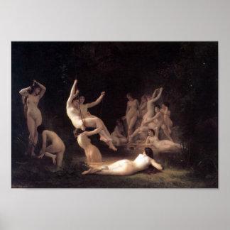 Guillermo-Adolfo Bouguereau-The Nymphaeum Impresiones