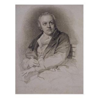 Guillermo Blake (1757-1827) grabado por Luigi Schi Tarjeta Postal