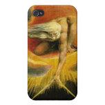 Guillermo Blake - antiguo de la pintura de los día iPhone 4 Cárcasas