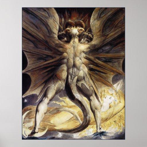 Guillermo Blake: El gran dragón rojo Póster