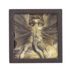 Guillermo Blake - el gran dragón rojo y la mujer Caja De Joyas De Calidad