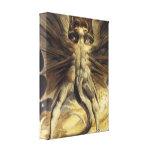 Guillermo Blake - el gran dragón rojo y la mujer Impresión De Lienzo