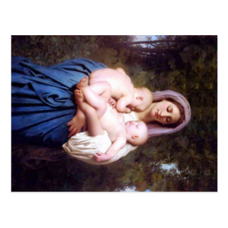 Guillermo Bouguereau_Charity (1878) Postal
