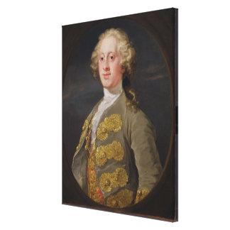 Guillermo Cavendish marqués de Hartington más ad Lona Estirada Galerias