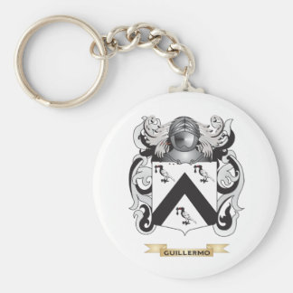 Guillermo Coat of Arms (Family Crest) Key Chain
